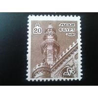 Египет 1978 башня в Каире