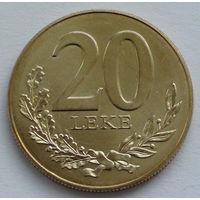Албания 20 лек. 2000