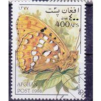 1998 Афганистан Бабочка фауна