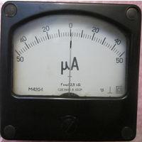 Милиамперметр 50-0-50mА