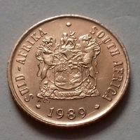 1 цент, ЮАР 1989 г., AU