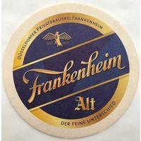 Подставка под пиво Frankenheim /Германия/
