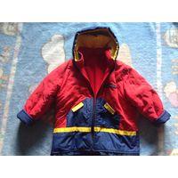 Куртка деми-зима р. 110-122