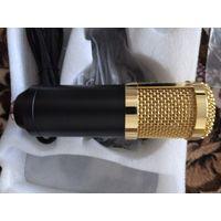 Проводной конденсаторный микрофон в комплекте