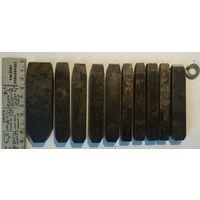 Клейма ударные по металлу,СССР, как изделия или заготовки для высокопрочных  зубил,стамесок,лот 1