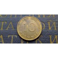 10 пфеннигов 1993 (J) Германия ФРГ #01