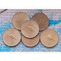 Венгрия 5 форинтов. Инвестируй выгодно в монеты планеты!