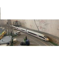 Пассажирский поезд ICE-3 PIKO. Масштаб HO-1:87.