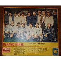 Плакат Динамо Минск