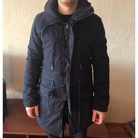 """Куртка мужская парка """"LOVE MOSCHINO"""" б\у в хорошем состоянии"""