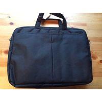 Сумка для ноутбука, для документов, черный цвет. Размер: ширина 30 см, длина 42 см, глубина 7 см. Не пользовалась. Красивая, аккуратная сумка.