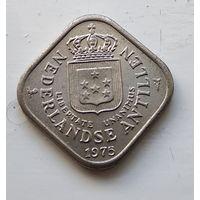 Нидерландские Антильские острова 5 центов, 1975 1-1-50
