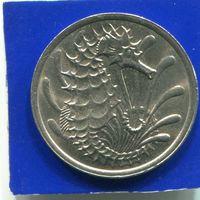 Сингапур 10 центов 1980