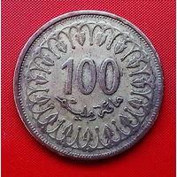50-02 Тунис, 100 миллимов 1997 г.