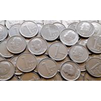 Бельгия. ( 1fr. Альберт-2 ) 20 монет - одним лотом.