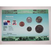 Панама, набор монет