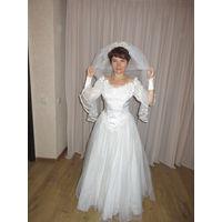Платье свадебное чудесное милое!