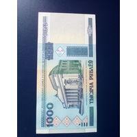 Купюра,банкнота Беларуси 1000 рублей 2000 год UNC