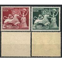 1942 - Рейх - Ювелирное искусство Mi.816-17 **