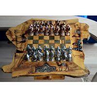 Винтажные шахматы из металла.За Вашу цену с рубля. Аукцион 5 дней!!!