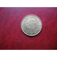 """10 центов 2011 год Бельгия (брак, """"нашлёпка"""" на волосах Альберта) (д)"""