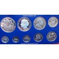 Ямайка годовой набор монет 1978 года. 5 и 10 долларов в наборе серебряные. В специальной подарочной коробке + сертификаты! Идеальное состояние!!! ПРУФ!