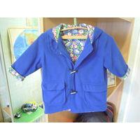 Пальто для девочки + берет (на 2-3года)