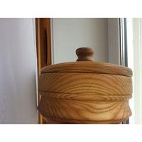 Шкатулка деревянная Ясень Ручная работа