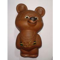Мишка олимпийский,1980г,резина