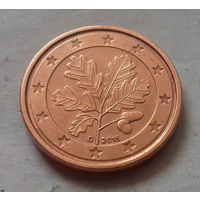 1 евроцент,  Германия 2018 D, UNC