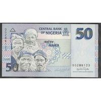 Нигерия 50 найра 2008. UNC