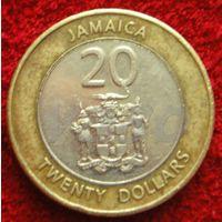7909:  20 долларов 2008 Ямайка