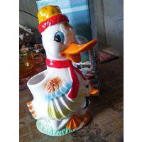 Мама утка, подставка для столовых приборов, Katerina ceramics