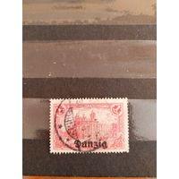 1920 Данциг мих8 оценка 5,5 евро искусство (1-4)
