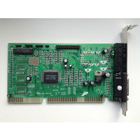 Звуковая плата на чипе Avance Logic ALS100 Plus ( ISA )