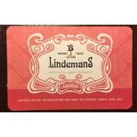 Подставка под пиво Lindemans No 1