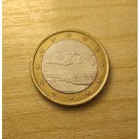 1 евро 2006 Финляндия.