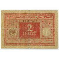 Германия, 2 марки 1914 год.