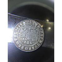 30 грошевик тымф 1665 г не частая кредитная монета