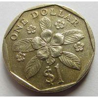 СИНГАПУР,1доллар1995г.