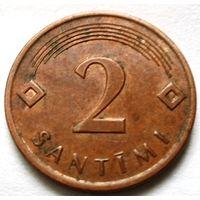 2 сантима 2009 Латвия