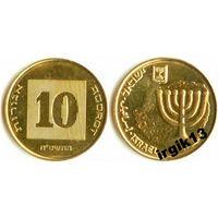 10 агорот 1985 Палестина Израиль UNC