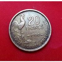 32-10 Франция, 20 франков 1950 г.
