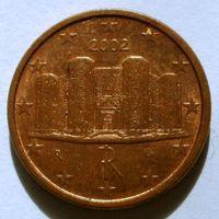 1 евроцент 2002 Италия