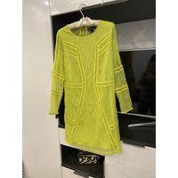 Платье H&M неоновый цвет