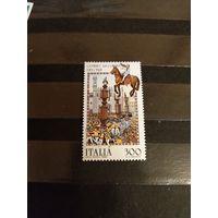 1983 Италия искусство культура чистая клей MNH** выпускалась одиночкой(3-11)