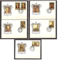 СССР 1983 г. КПД  5449-54 Эрмитаж Немецкая живопись