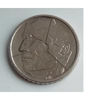 Бельгия 50 франков 1992 года. Французский тип. Надпись BELGIQUE