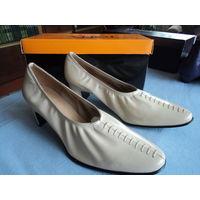 Туфли женские,38 размер,натуральная кожа\новые\Распродажа!