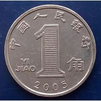 1 цзяо 2005 КИТАЙ - магнит